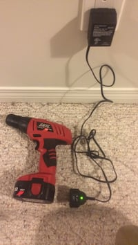 Red and black milwaukee corded hand drill Central Okanagan, V4T 2M4