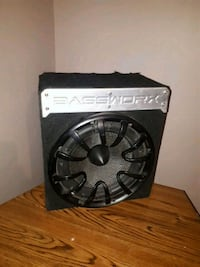 black and gray Kicker subwoofer Winnipeg, R2K 1B1