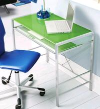 Green glass top desk Falls Church, 22046