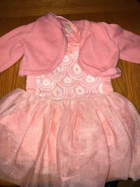 Dress with sweater 12-18 months 357 mi