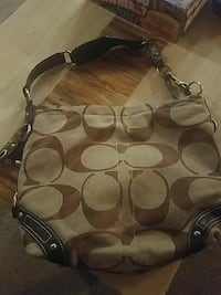 gray Coach hobo bag Otego, 13825