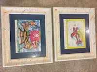 Kids room paintings from local artist Ellicott City, 21042