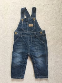 Baby jean overalls s.3-6 months Blomsterdalen, 5258