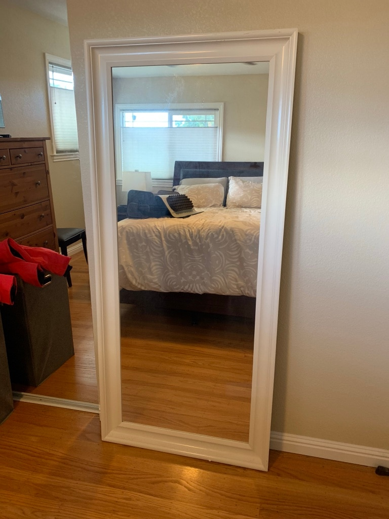 Charmant White IKEA Hemnes Mirror Full Length