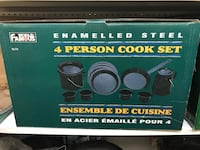 Brand New 4 PERSON COOK SET  Langley