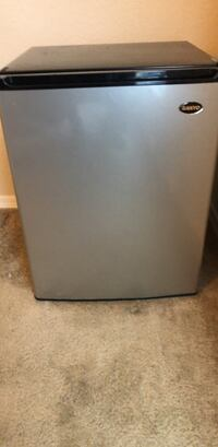 gray and black compact refrigerator Irving, 75039