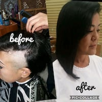 tape-in  hair extensions  Pomona