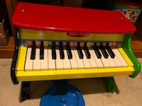 red and black electronic keyboard Huntington Station, 11746