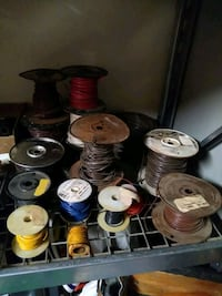 Electrician electrical wire