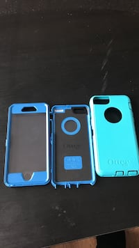 Blue and Teal iPhone 6S Defender Otter Box Asphodel-Norwood, K0L 2V0