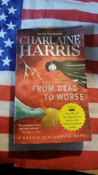 From Dead to Worse by Charlaine Harris book McMinnville, 97128