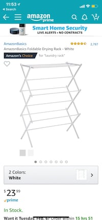White foldable drying rack screenshot null, 11373