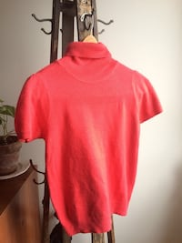 red turtle neck shirt