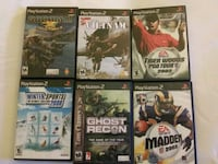 PlayStation 2 Games  Sussex, 07461