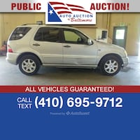 2000 Mercedes-Benz ML430 Joppa, 21085