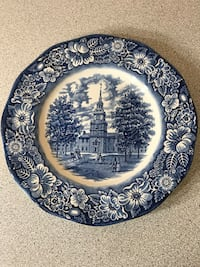 Blue and White Liberty Blue Plate Rockville, 20853