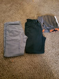two black and gray shorts Bakersfield, 93309