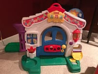 white and green Fisher-Price house toy Reston, 20194