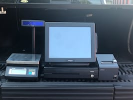 4 POS systems with scales $800 each