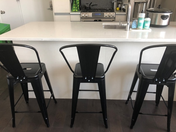 Marvelous Black Metal Counter Stools 24 Alphanode Cool Chair Designs And Ideas Alphanodeonline