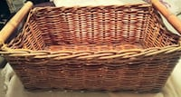 Large 'Thick Wicker' Basket Red Deer, T4P 4G5