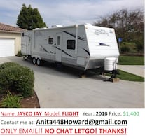 Jayco Jay 2010 very clean flight