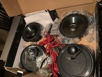 Orion P6.2 2 way component speakers Columbus, 43004