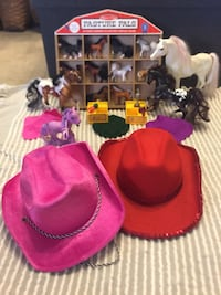 Horses and Cowgirl Hats