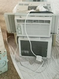 white window-type air conditioner Mission, 78572