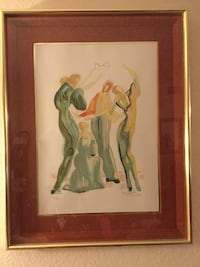 Salvador Dali SIGNED LIMITED EDITION W/AUTHENTICATION Los Angeles