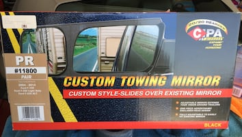 Custom towing mirrors slide over your mirrors fits 2004 to 2014 F-150