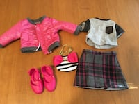 """18"""" doll journey girls outfit pink jacket clothes fits American girl  Niagara Falls, L2H 1X3"""
