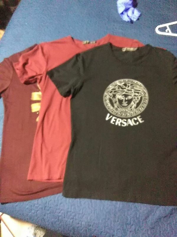 Versace shirt  two XL and one XXL