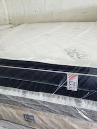 white and black floral mattress Opa-locka