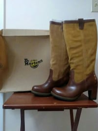 Dr martin ladies boots size 10