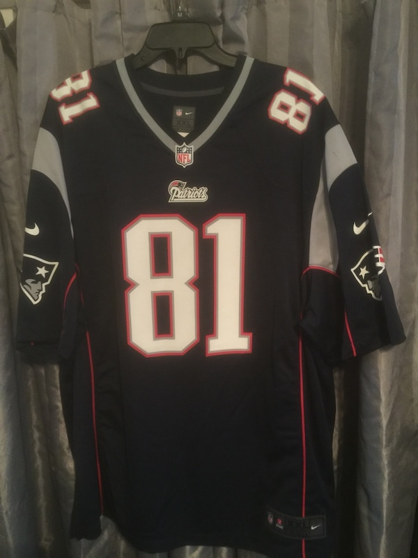buy popular c762a 58bf7 Nike Authentic Patriots Jersey (81 AH)