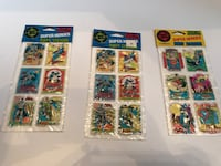 DC Super Heroes puffy stickers Plumsted, 08514