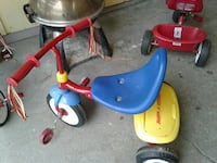 blue, red, and yellow Radio Flyer trike Tacoma, 98404