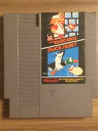 Super Mario Bros./Duck Hunt (Nintendo NES) *Cleaned *Tested*Works*