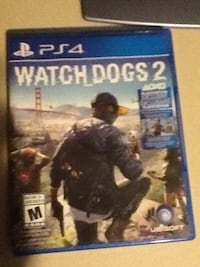 Watch Dogs 2 PS4 game case Toronto, M3N
