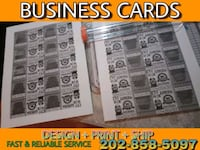 Logo Design/Business Cards Montgomery Village