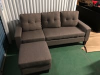 gray fabric 2-seat sofa Brampton, L6V