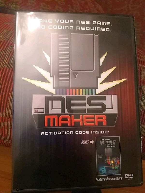 NESmaker software licence and New 8 Bit Heroes DVD