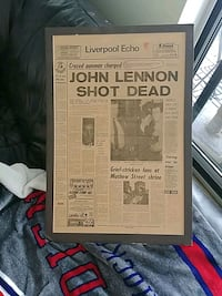 Front page Death of John Mississauga, L5L 2E9