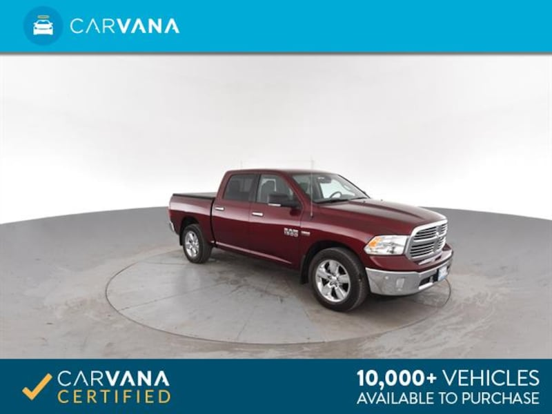 2016 Ram 1500 Crew Cab pickup Big Horn Pickup 4D 5 1/2 ft Red <br 8