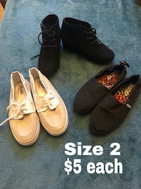Girls shoes price and size on pictures Odessa, 79762