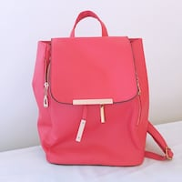 Pink faux leather small backpack Montréal, H4L 3E6