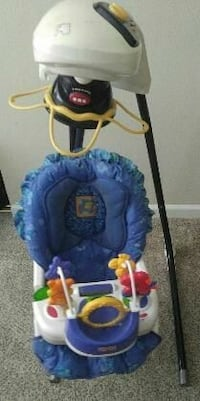 CAN DELIVER! Fisher Price 7 Speed Craddle Swing