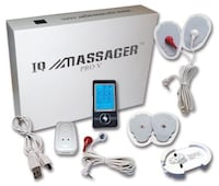 Iqmassager tens pulse with belt  White Lake, 48383
