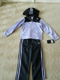 New with tags Adidas girls track set size 4T Rockville